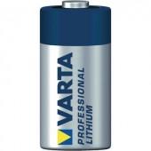CR123A fotóelem, lítium, 3V 1480 mAh, Varta EL123AP, K123LA, RL123A, EL123A, DL123A, 5018LC, LR123, VL123