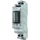 DIN sínre szerelhető 1 fázisú fogyasztásmérő 20A, Finder 7E.12.8.230.0001