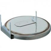 CR2430 forrfüles lítium gombelem, forrasztható, fekvő, 3 V, 285 mA, Renata CR2430.RH-LF