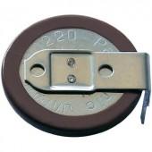 VL2020 gombakku lítium, beforrasztható, fekvő, 3 V 20 mAh, Panasonic VL2020-1HFE