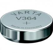 364 gombelem, ezüstoxid, 1,55V, 20 mAh, Varta SR621SW, SR60, SR621, V364, D364, 602, T, 280-34, SB-AG, SB-DG