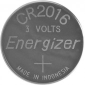 CR2016 lítium gombelem, 3 V, 90 mA, Energizer BR2016, DL2016, ECR2016, KCR2016, KL2016, KECR2016, LM2016