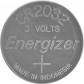 CR2032 lítium gombelem, 3 V, 240 mA, Energizer BR2032, DL2032, ECR2032, KCR2032, KL2032, KECR2032, LM2032