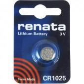 CR1025 lítium gombelem, 3 V, 30 mAh, Renata BR1025, DL1025, ECR1025, KCR1025, KL1025, KECR1025, LM1025