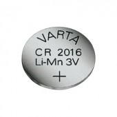 CR2016 lítium gombelem, 3 V, 90 mA, Varta BR2016, DL2016, ECR2016, KCR2016, KL2016, KECR2016, LM2016