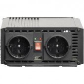 Inverter VOLTCRAFT MSW 700-12-G USB 700 W 12 V/DC 11.4 - 14.4 V csavaros csipeszek
