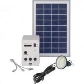 Napelemes töltő készlet, 5W, Solar Trend 03005