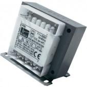 Biztonsági transzformátor EL 13/9, 2 x 9 V Block