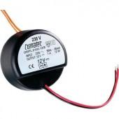 Beépíthető transzformátor 12 V/DC 18 W, Comatec OR/FL/0150.12/E