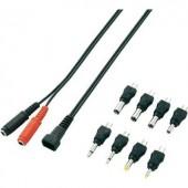 DC adapter csatlakozó készlet, VOLTCRAFT F04A2-8XC