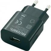 Hálózati USB töltő adapter USB A aljzattal 1000mA Voltcraft SPS-1000