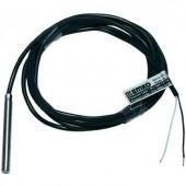 Hőmérséklet érzékelő, típus J -50 - 200 °C, vezetékhossz: 2 m, Emko, ISO kalibrált