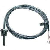 Hőmérséklet érzékelő, típus J -50 - 400 °C, vezetékhossz: 4 m, Emko, ISO kalibrált