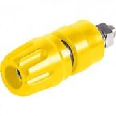 Póluscsatlakozó PKI 100 sárga