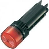 Akusztikus jeladó 80 dB 24 V/DC piros, 16 mm, időszakos hangjelzés