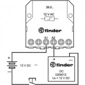 12 V/DC 1 db Finder 026.9.012