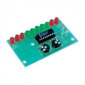 Tru Components LED-es gépjármű akkumulátor jelző Építőkészlet 12 V/DC