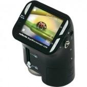 Digitális mikroszkópkamera USB/LCD1,3 MPixNagyítás 3,5 ... 35 x, Reflecta