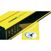 Biztonsági kézvédő fényfüggöny (adó) 24 V/DC, 1827 mm, sugarak száma: 113, hatótáv: 12 m, Contrinex YBB-30S4-1800-G012