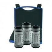 Kiváló páratartalom referencia készlet 11,3 % rF/32,9 % rF/75,4 % rF, +20 - +40 °C, Hygrosens REFZ-12Z-SET2