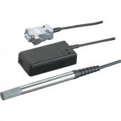 Levegő páratartalom és hőmérséklet érzékelő USB-hez, rozsdamentes acél, Hygrosens USB LOG CON-HYTE