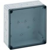 Fali doboz, 1111-7-TM, műanyag, metrikus kitörhető nyílásokkal