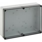 Fali doboz, 1309-6-T, műanyag, sima oldalfalakkal