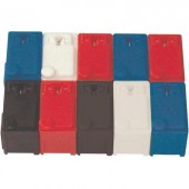 Univerzális műszerdobozok 28 x 16 x 20 ABS Piros 1 db