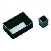 OKW Modulház PA 6.6 (H x Sz x Ma) 38.8 x 38.8 x 26.5 mm Fekete