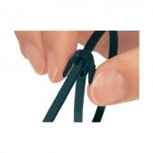 Oldható kábelkötegelő 200 x 4,7 mm, fekete, 1 db, HellermannTyton 115-40200 REZ200-N66-BK-C1