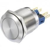 Kapcsoló 250 V/AC 3 A 1 x BE/BE Conrad GQ22-11Z/S IP65