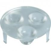 3 részes LED optika P4-Z-Power-LED modulhoz, 45 °, Barthelme 61002545