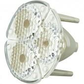 3 részes optika a SSC P5 II RGB LED-hez, 25°, FS3-M1-SSP5II-H
