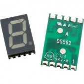 7 szegmenses kijelző, Narancs 10 mm 2.1 V Számjegyek: 1 Avago Technologies HDSM-431L