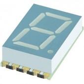 7 szegmenses kijelző, kék 10.16 mm 3.05 V Számjegyek: 1 Kingbright KCSC04-136