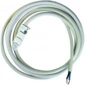 AC csatlakozóvezeték a 7L sorozatú LED fényforrásokhoz Finder 07L.01 AC csatlakozóvezeték 2 x 1,5 mm², 2 m, fehér aljzat/fehér kábel