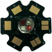 High-Power Infra LED csillag alakú panelhoz 850 nm, Star-IR850-10-00-00