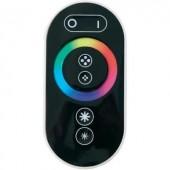 LED kontroller érintős rádiójel vezérlésű távirányítóval RGB LED csíkokhoz, 12/24 V/DC