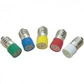 Barthelme LED lámpa, 2 chippel, 12V, T10 E10, piros, 70113122