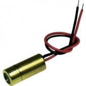 Lézermodul keresztvonal piros 5 mW Laserfuchs LFC650-5-12(9x20)