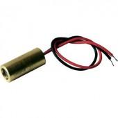 Lézermodul keskeny piros 5 mW Laserfuchs LFL650-5-12(9x20)60