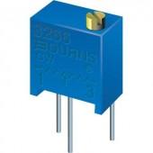 Álló trimmer potméter, felül állítható, 1 kΩ 0,25 W ± 10 % THT 3266W, Bourns 3266W-1-102LF