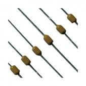 Axiális többrétegű kondenzátor, 47nF, 50V, ± 10%