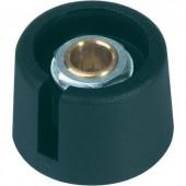 Com Knobs gomb 31 mm fekete