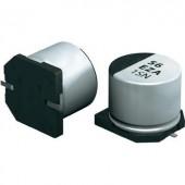 Elektrolit kondenzátor SMT 10 µF 63 V 20 % (Ø x Ma) 6.3 mm x 5.8 mm Panasonic EEHZA1J100P 1 db