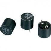 Induktivitás, árnyékolt, radiális, 100 µH , Würth Elektronik 7447471101