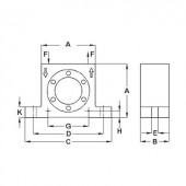 Netter Vibration NCT 5 Turbina vibrátor, Centrifugális erő (6bar) 2022 N, Névl. frekvencia (6 bar) 27600 Hz