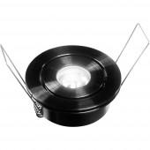 Barthelme 62515267 62515267 LED-es beépíthető lámpa EEK: LED (A++ - E) 2.3 W Melegfehér Alumínium
