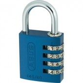 ABUS alu számkódos lakat, kék, 145/40, ABVS48807