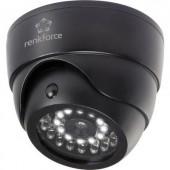 Álkamera infra szimulációval, villogó LED-del és mozgásérzékelővel Renkforce 1325938
